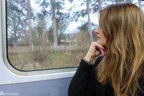 Å reise med tog: Reiselykke på to skinner