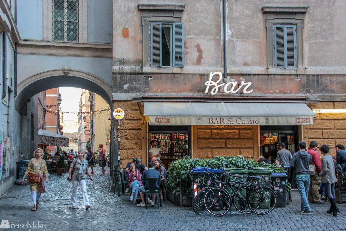 Trastevere i Roma