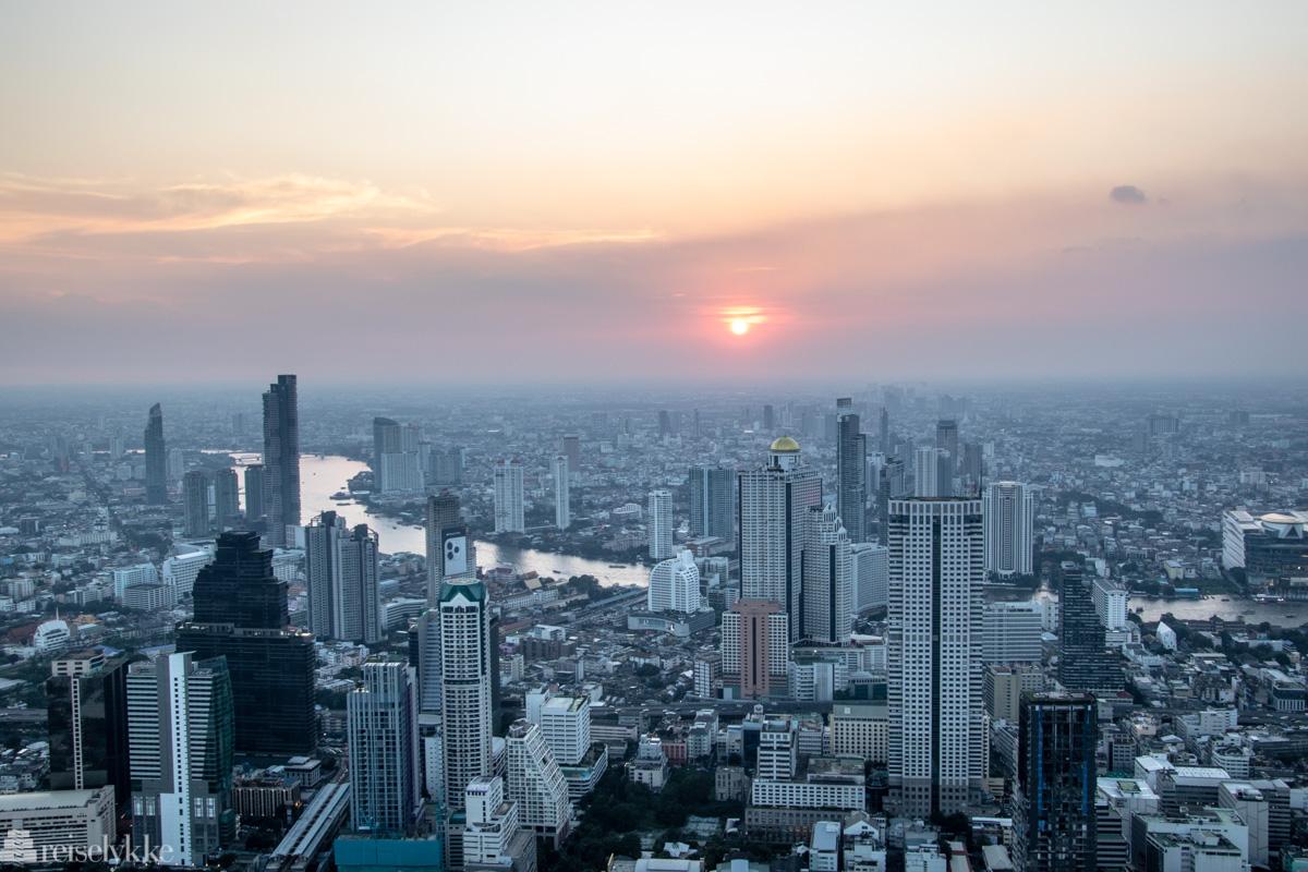 Makhanon Skybar utsikt