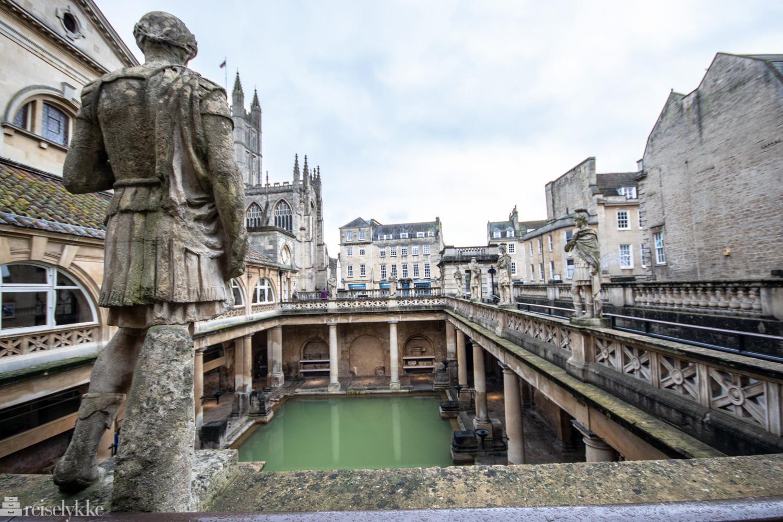 Det romersk badet i Bath