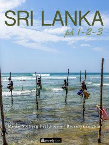 Reiseguide til Sri Lanka, omslag