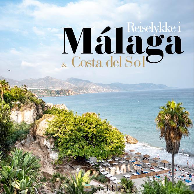 E-bok: Reiselykke i Málaga