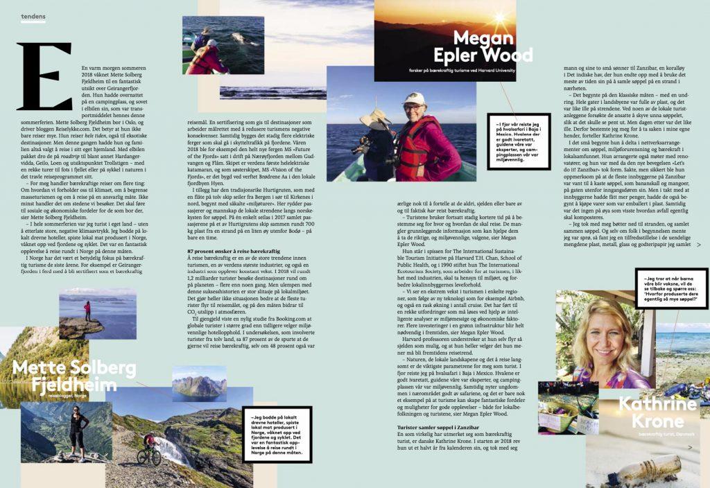 Intervjuet i magasinet Nordea Share