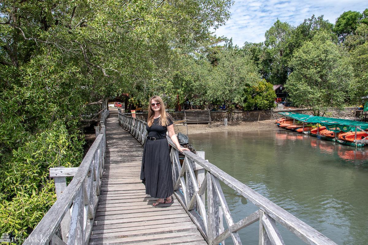 Mette på reise alene i Thailand
