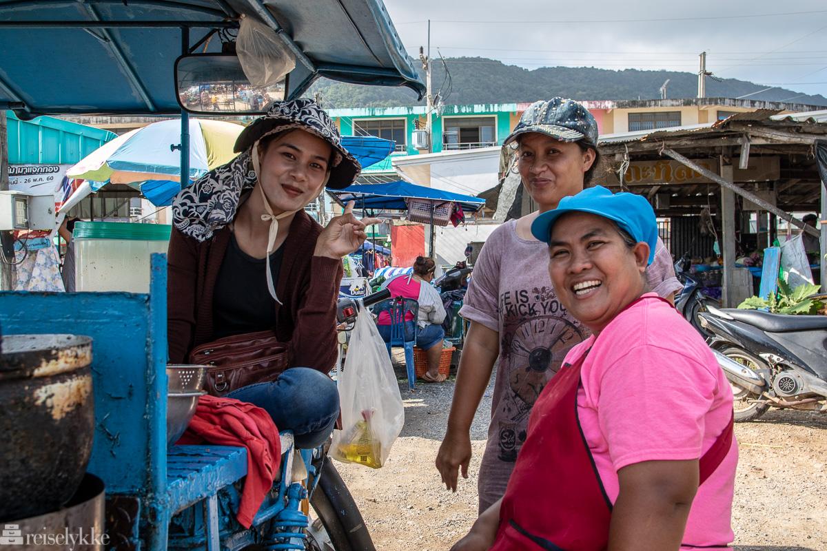 På markedet i Khanom