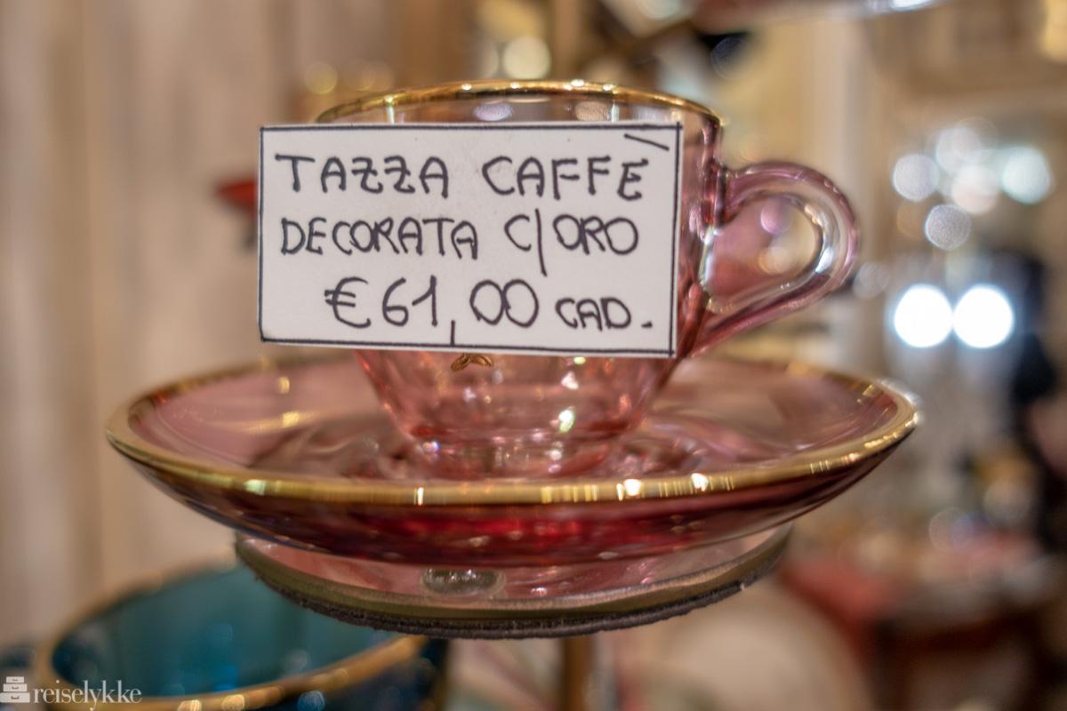Italiensk glassdesign