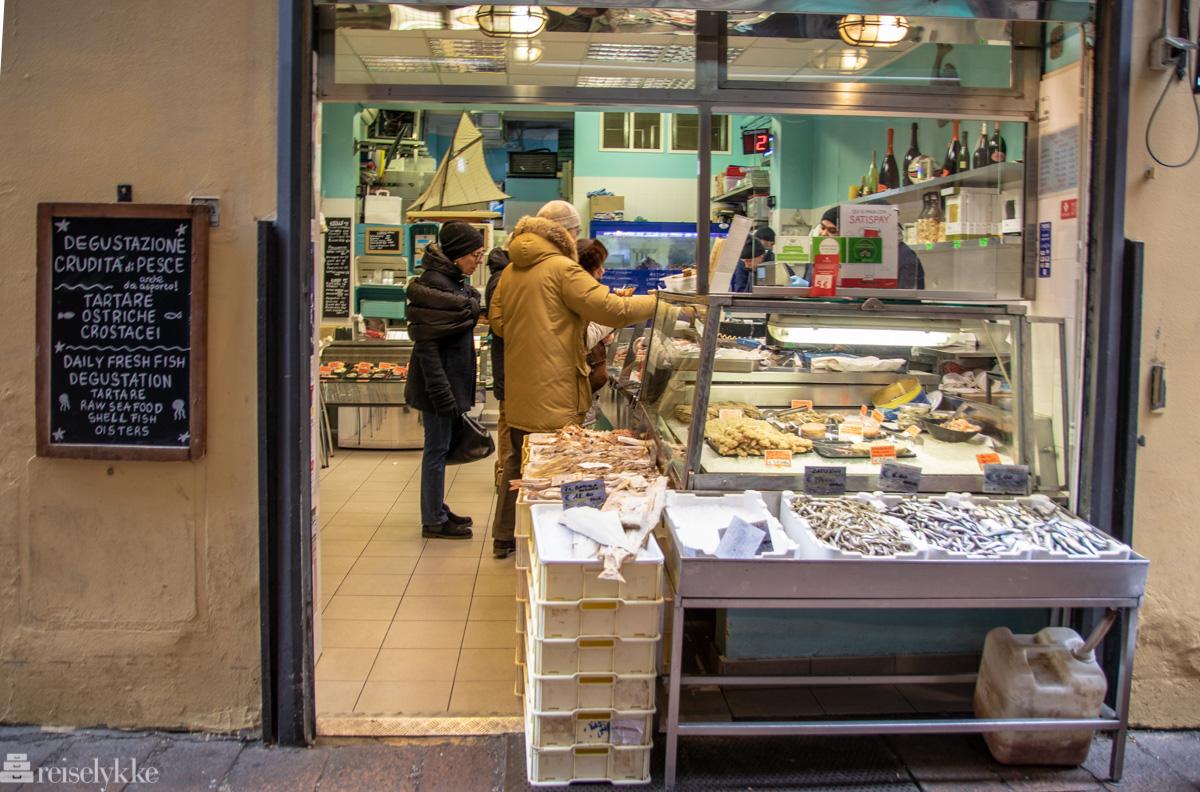 Fiskebutikk i Quadrilatero