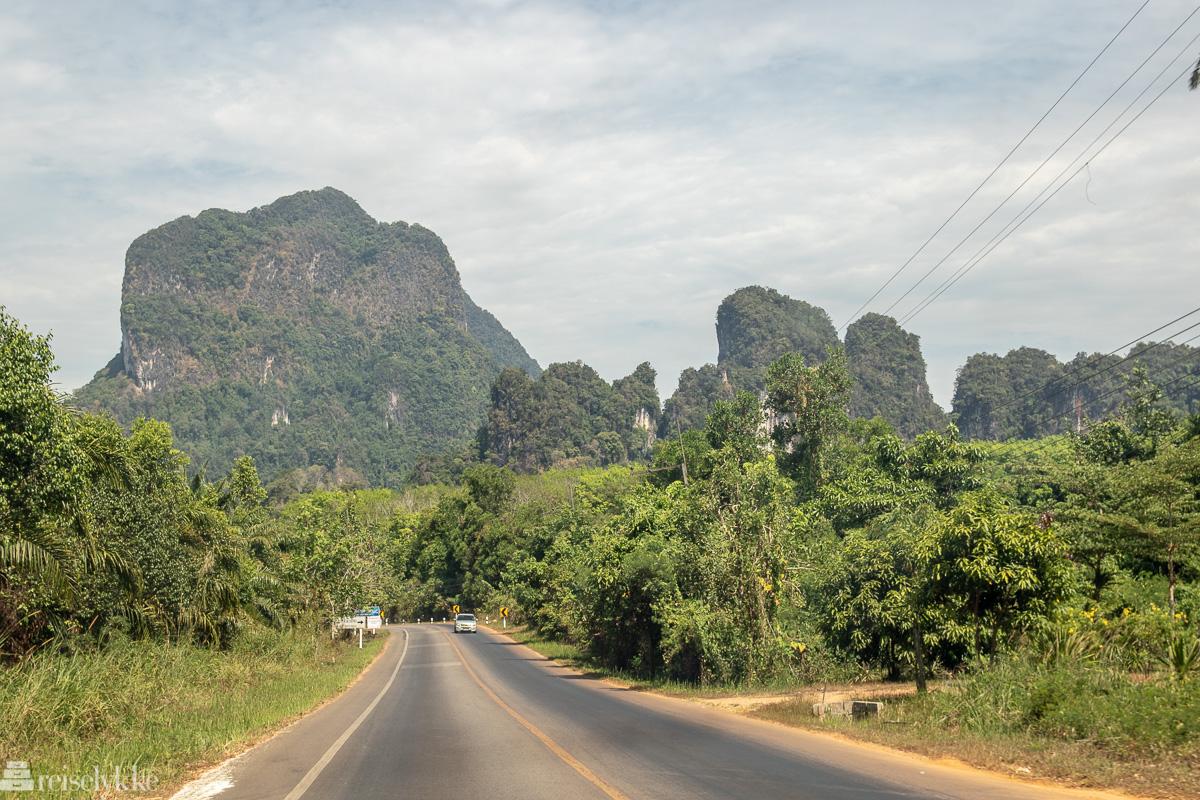 Langs veien i Krabi