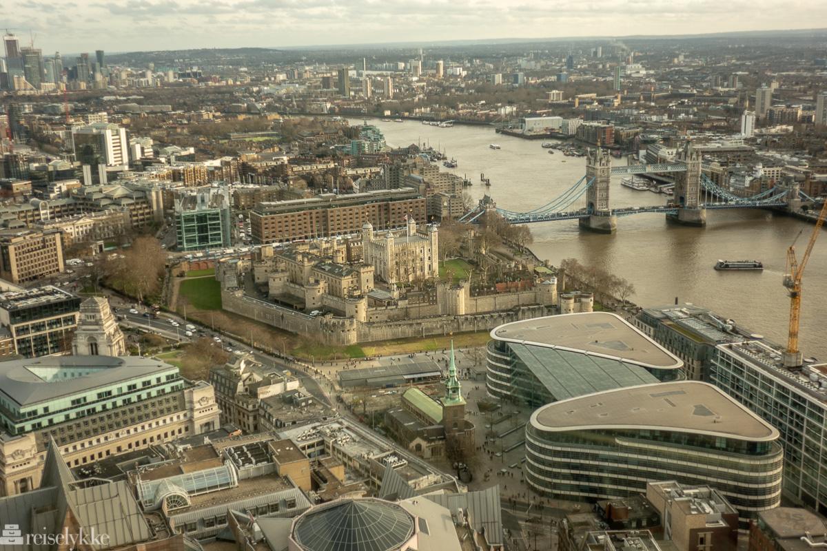 London sett fra oven