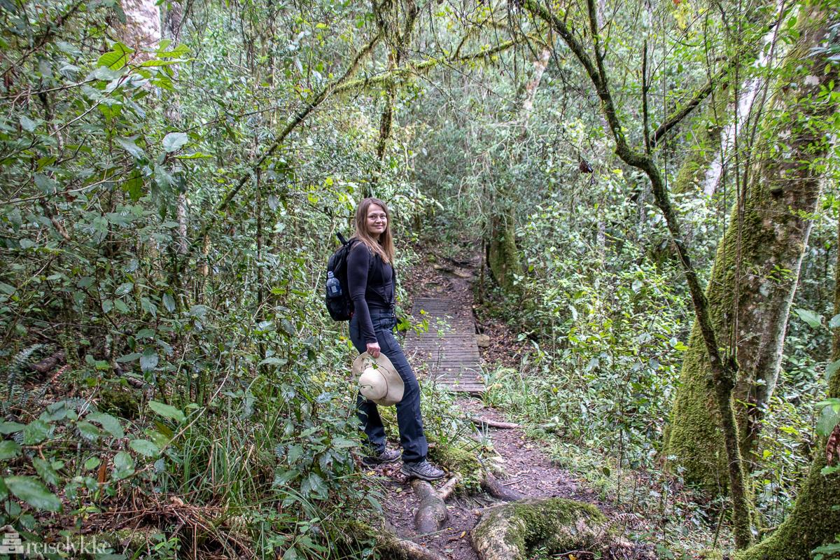 Mette på tur i Garden Route National Park