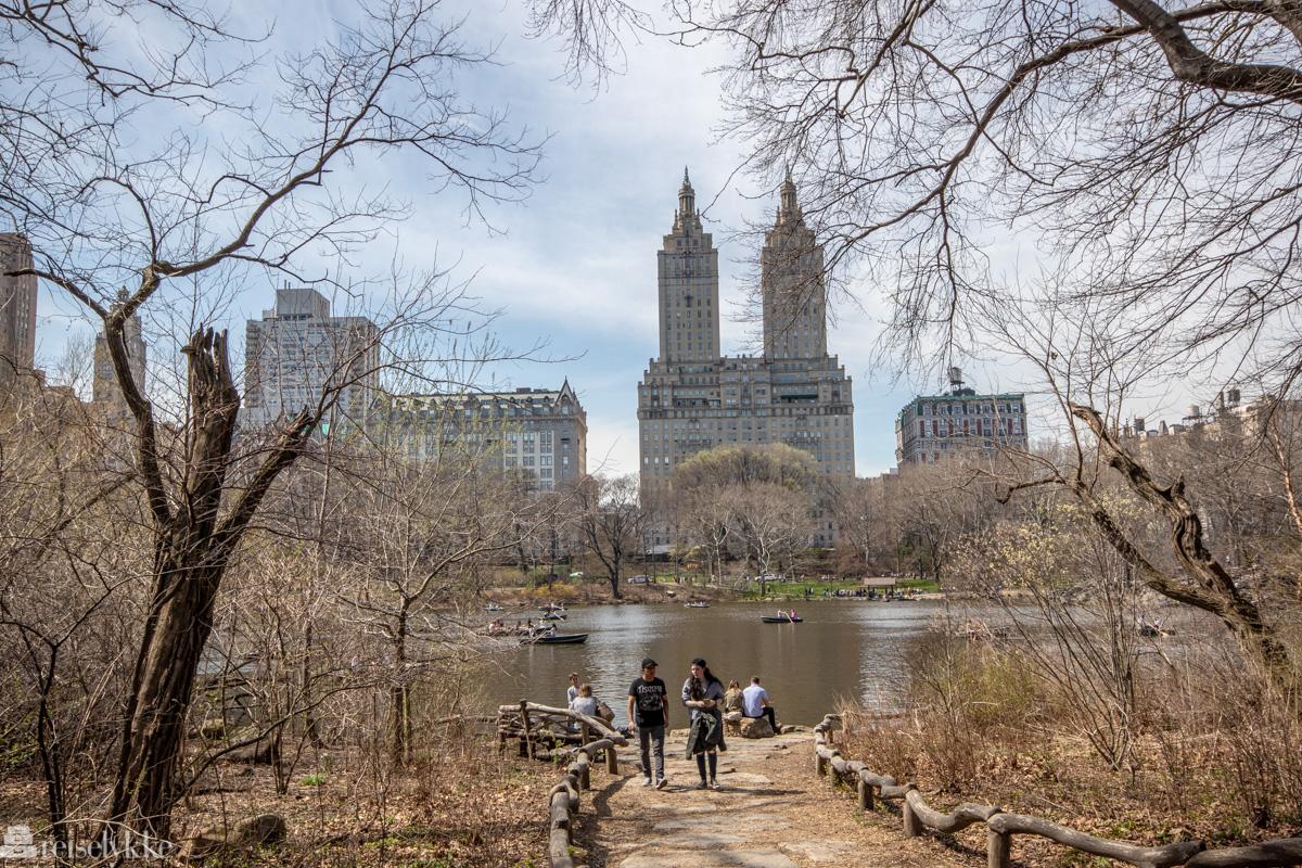 På tur i Central Park