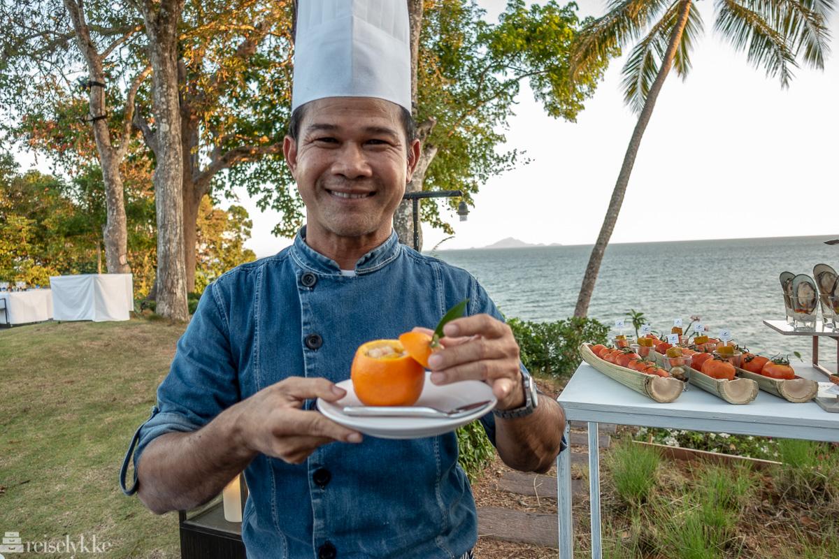 Sjefskokken har tidligere jobbet på Sheraton Phuket