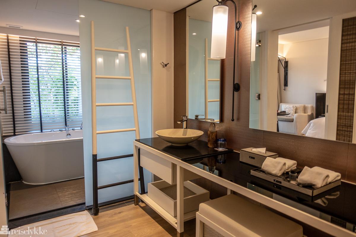 Badeværelse på standard hotellrom
