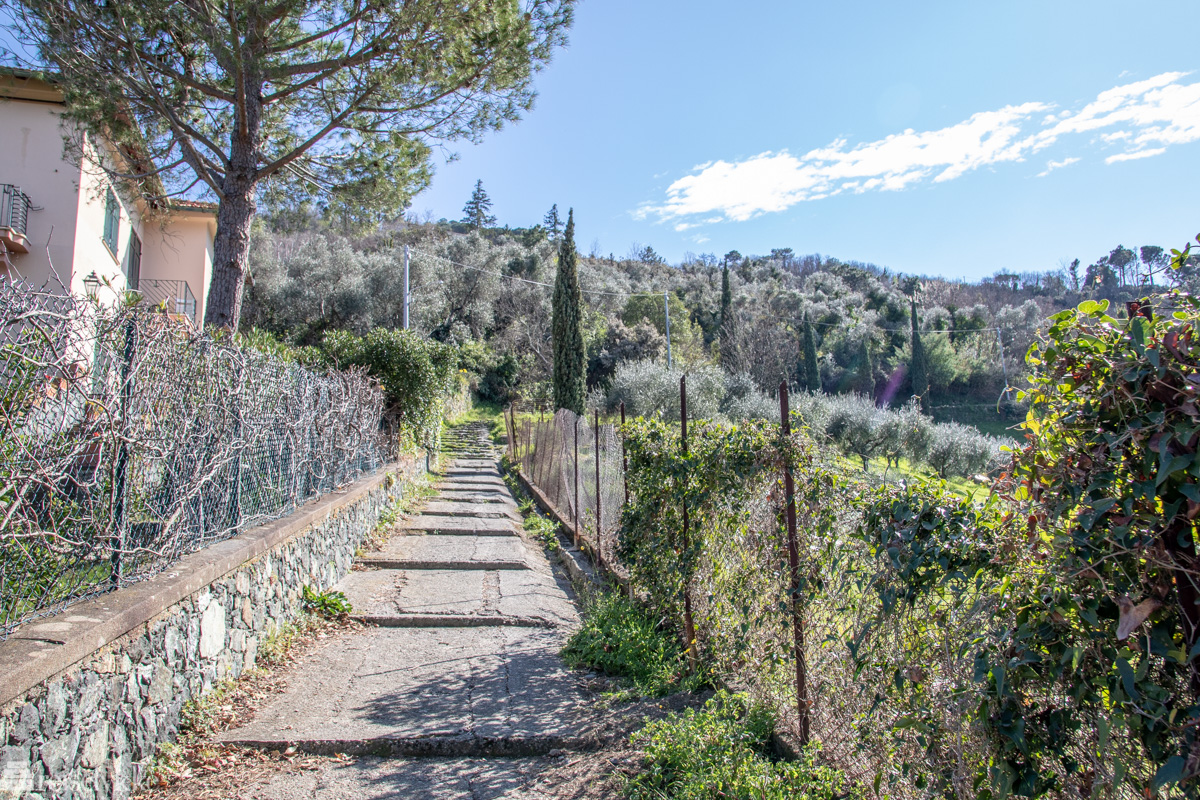 Trappelagt sti til Monterosso