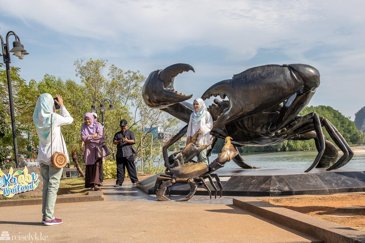 Turister i Krabi
