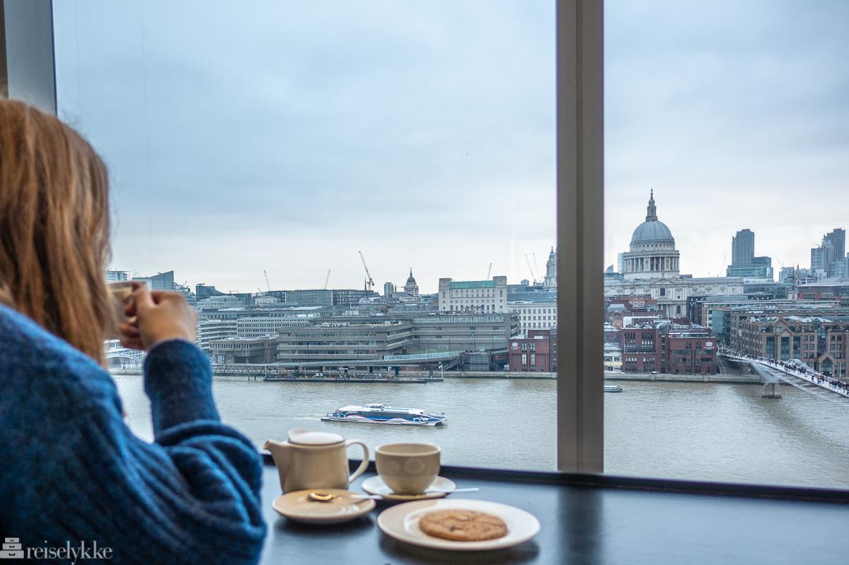 Utsikt fra Tate Modern