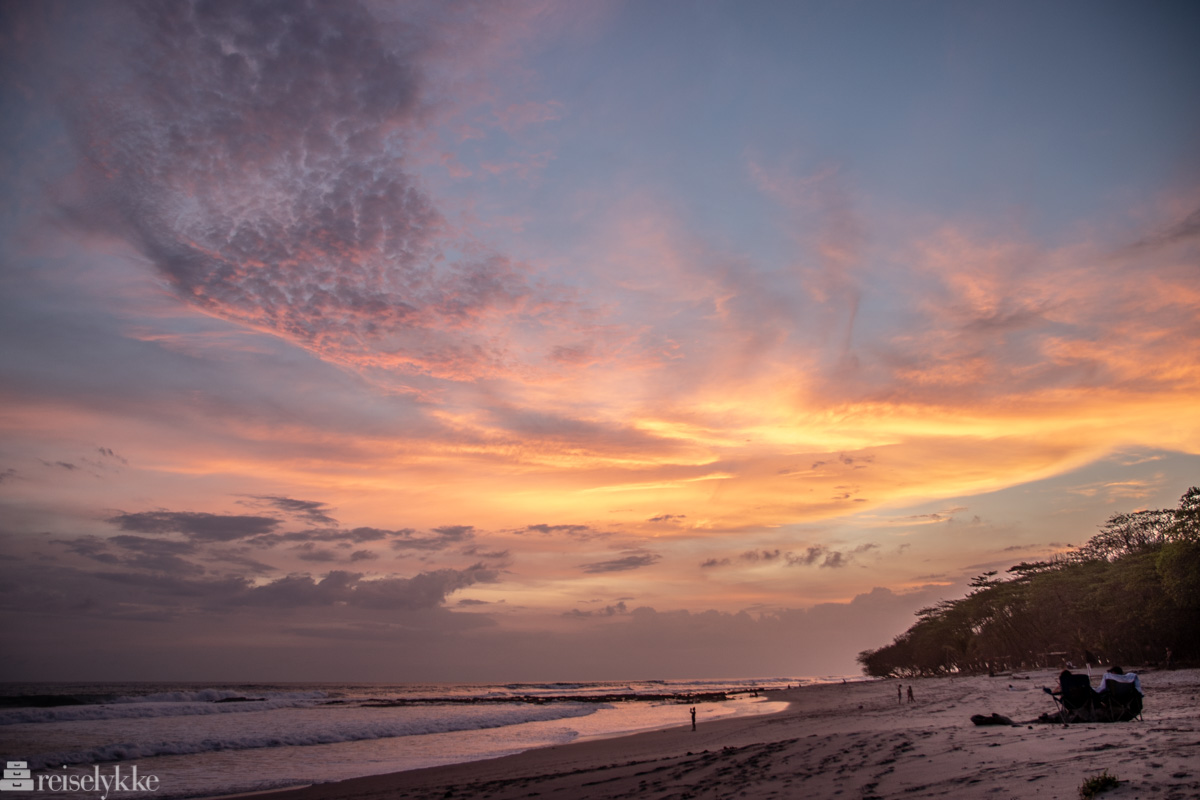 Magisk himmel over Playa Santa Teresa