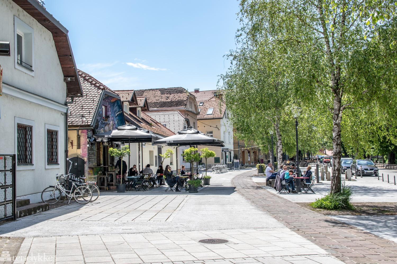 Eipprova street er gaten der Manna Restaurant ligger
