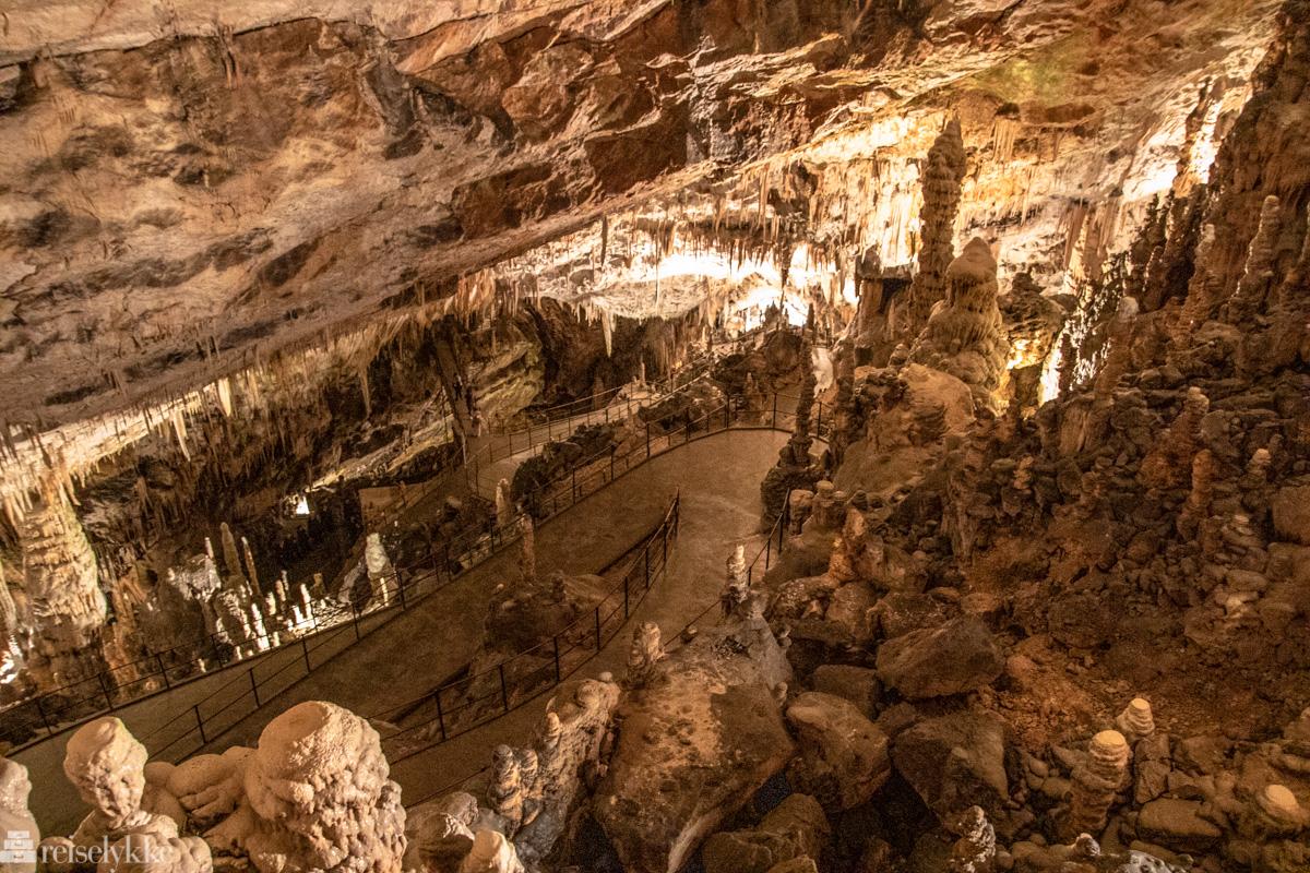 Bilde fra Postojna cave