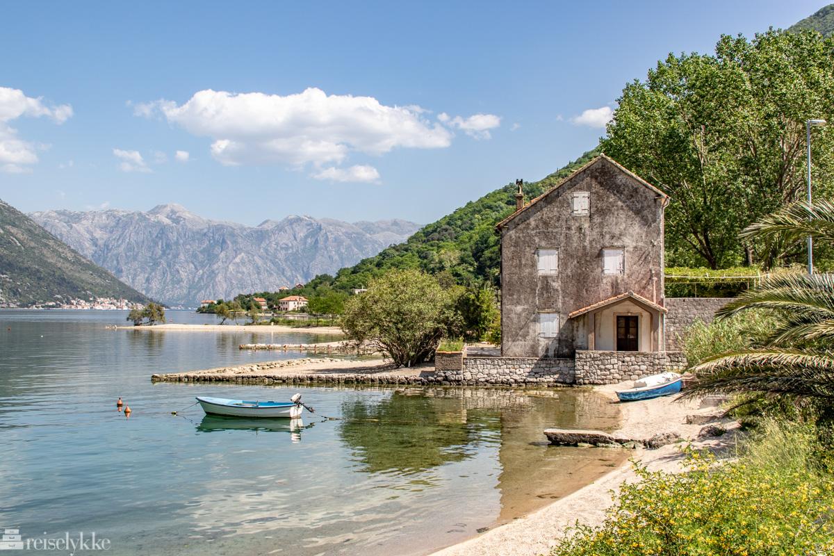 Strandområder i Montenegro