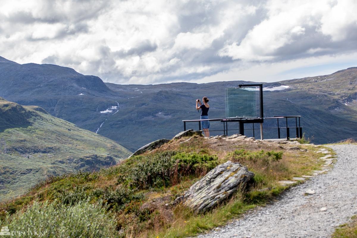 Utsiktspunkt ved Sognefjell