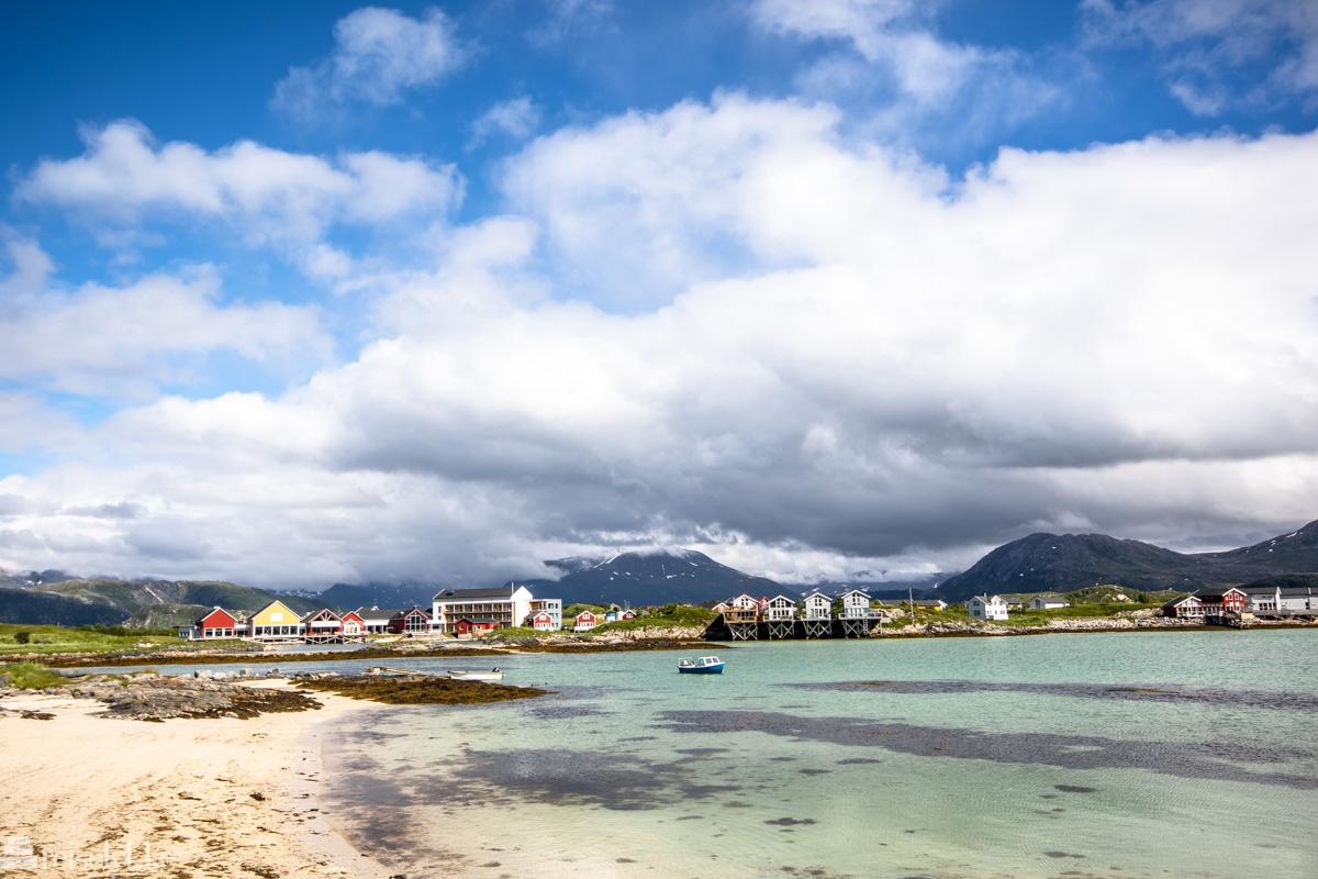Sommarøy Hotell på Hillesøy i Troms