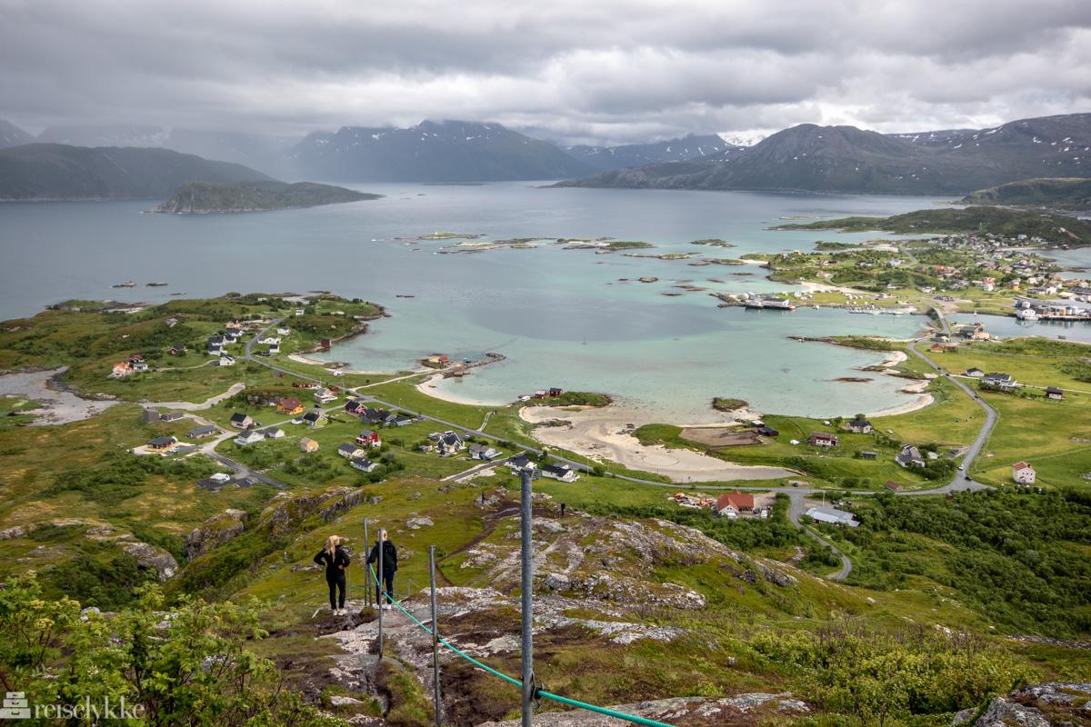 Utsikt mot Sommarøya