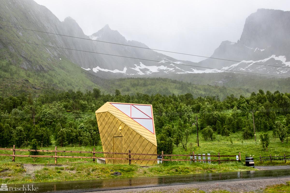 Toalettet ved Ersfjordstranda Senja
