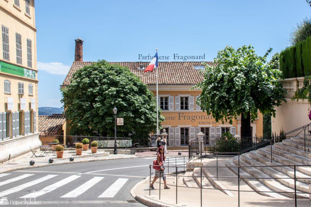 Fragonard ligger i Grasse