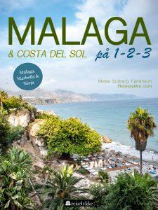 Omslag reiseguide til Málaga og Costa del Sol