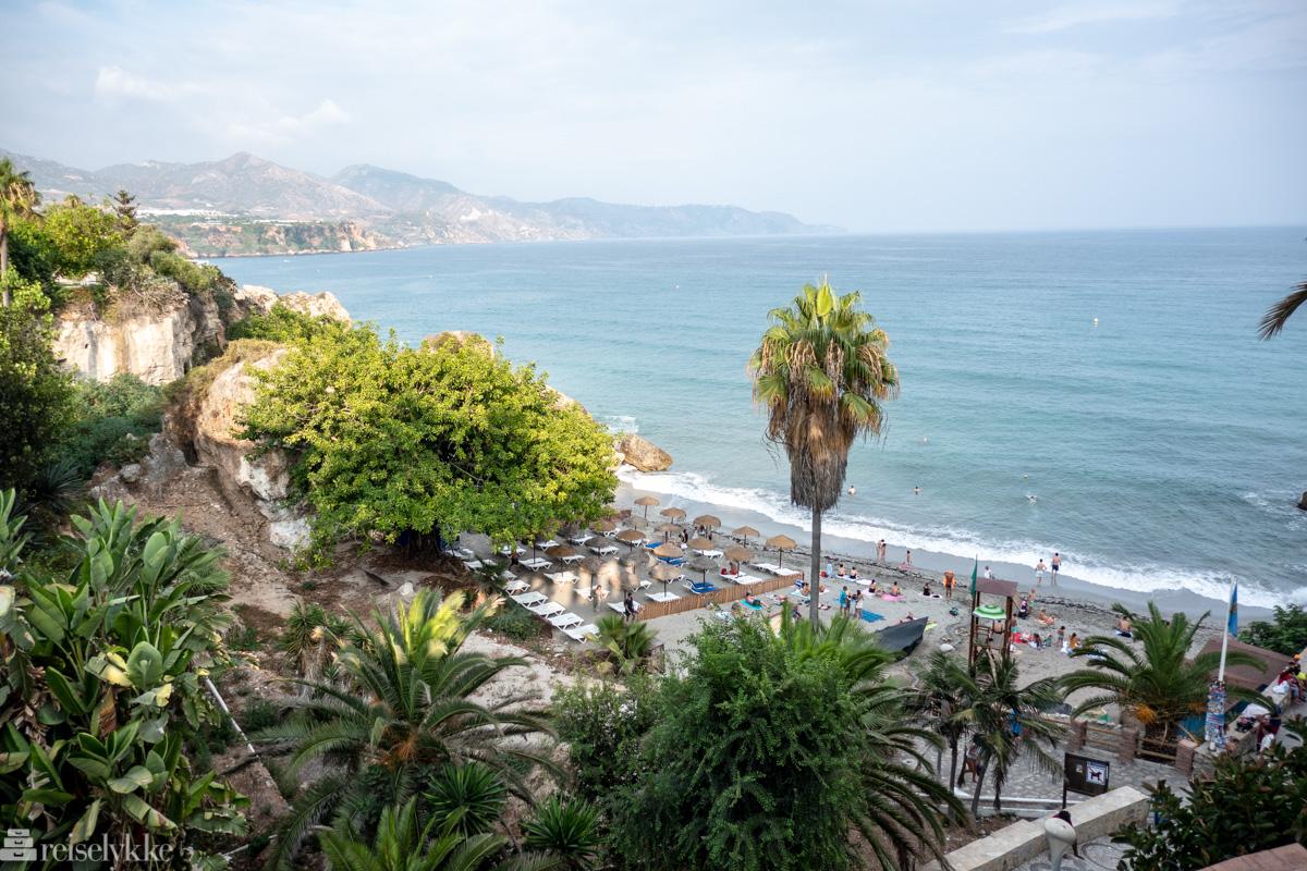 Playa del Chorrillo i Nerja
