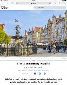 Reiseartikkel om Gdansk i VG_Levert av Mette S. Fjeldheim - Reiselykke