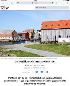 Reiseartikkel om Utsira i VG_Levert av Mette S. Fjeldheim - Reiselykke