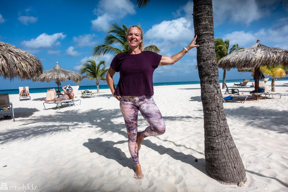 Barbara er pilatesinstruktør på Manchebo
