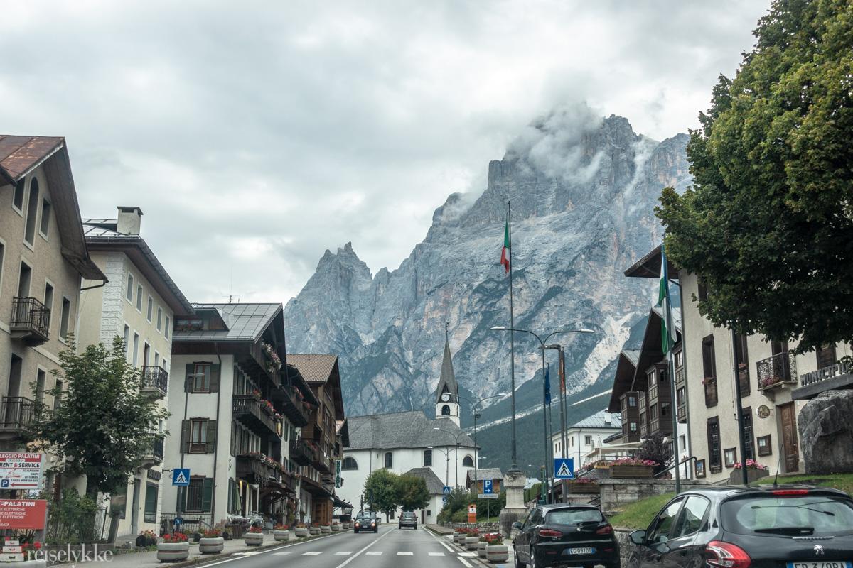 På vei til Dolomittene