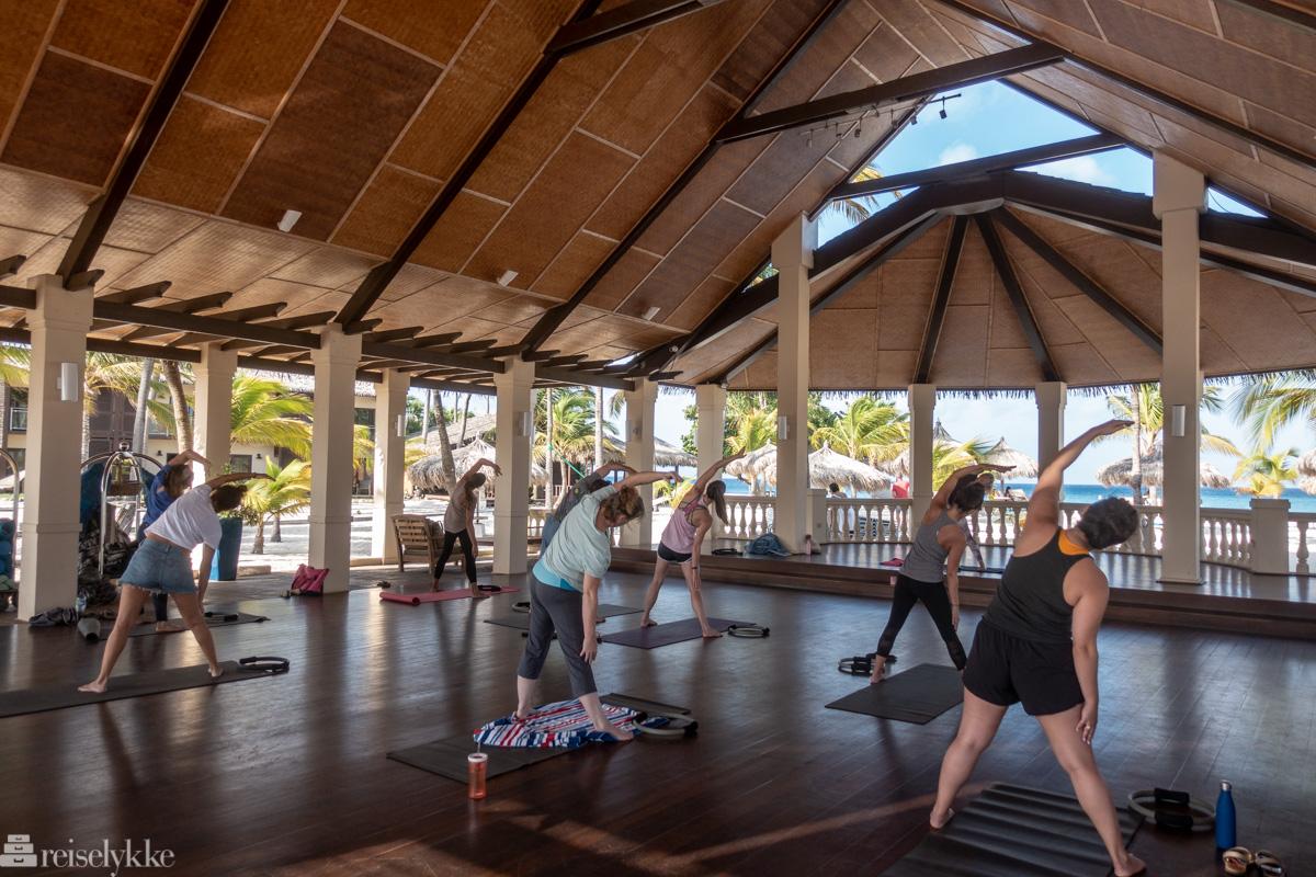 Pilates på Manchebo