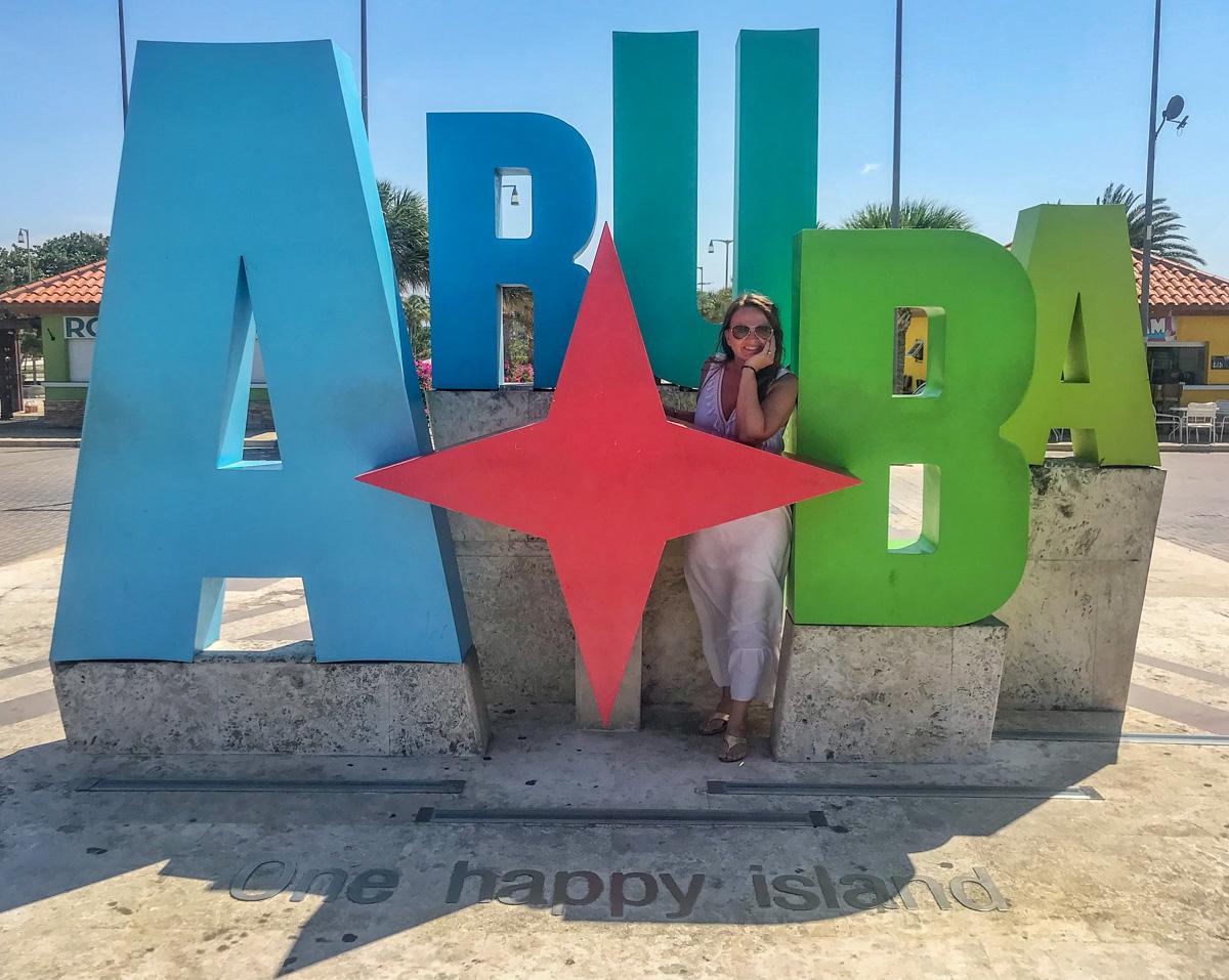 Reiselykke på Aruba