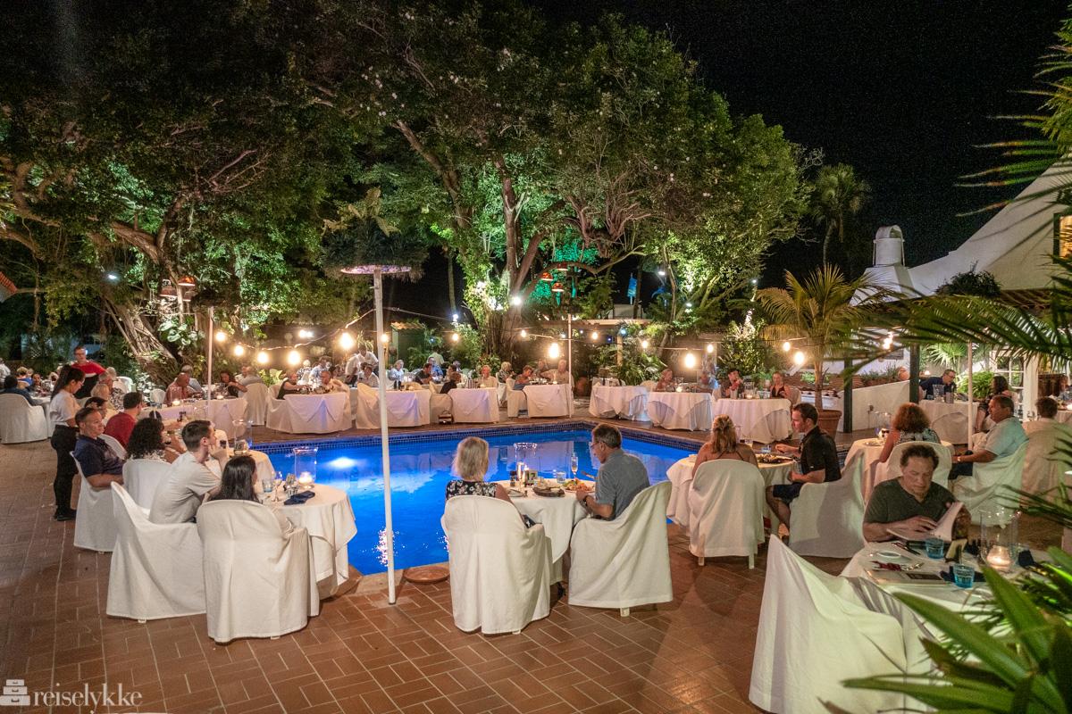 Romantisk middag på Papiamento Restaurant
