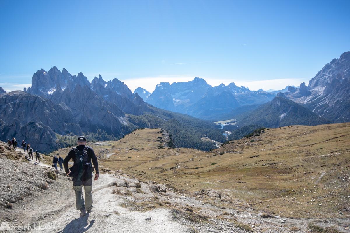 Tre Cime nasjonalpark i Dolomittene