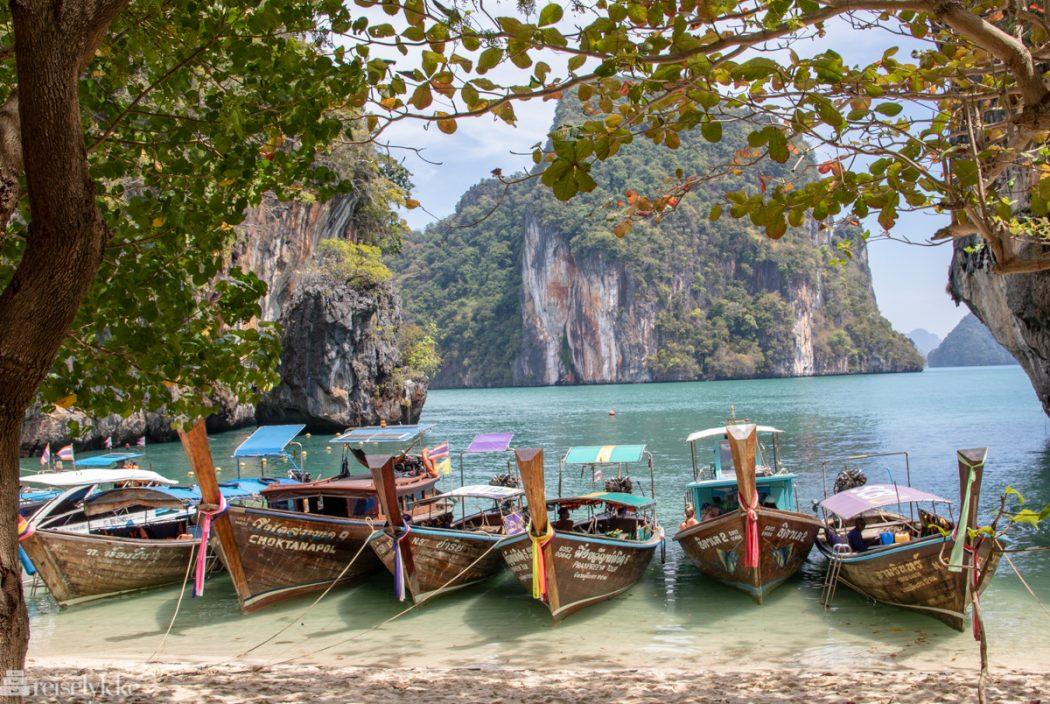 Øyhopping i Krabi