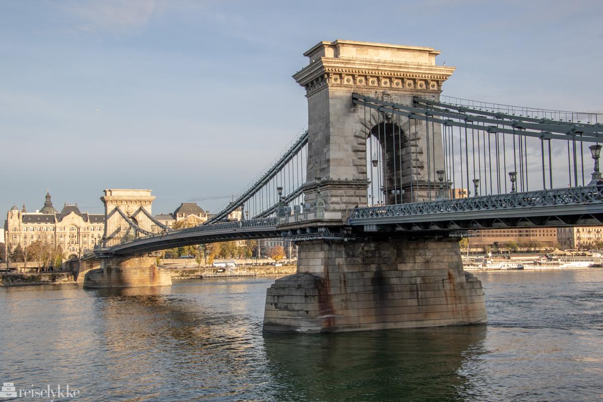 Chain Bridge i Budapest