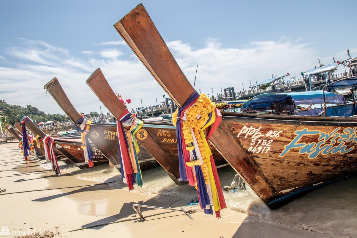 Phi Phi Island Longtailbåter
