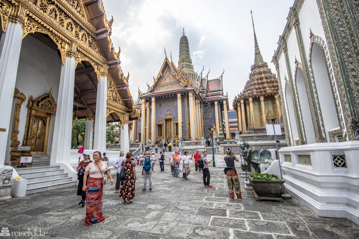 Grand Palace og Wat Pho