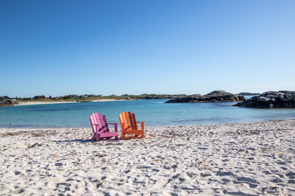 Fine sandstrender på Haugalandet_Åkrasanden