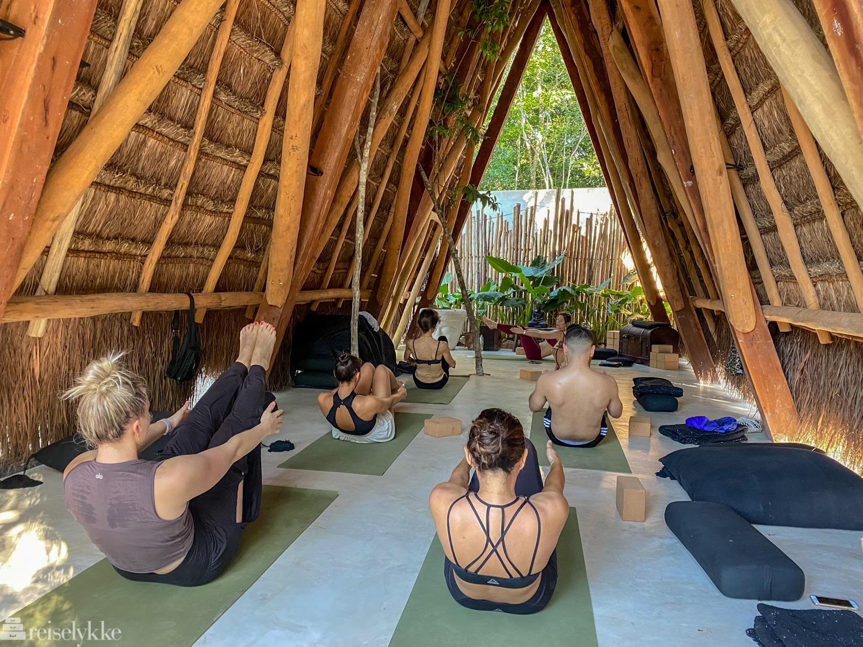Yoga i Tulum
