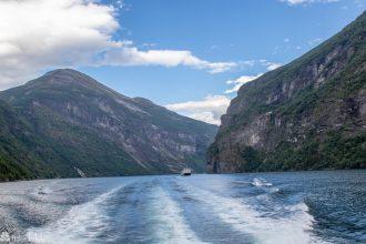 Båttur i Geirangerfjorden