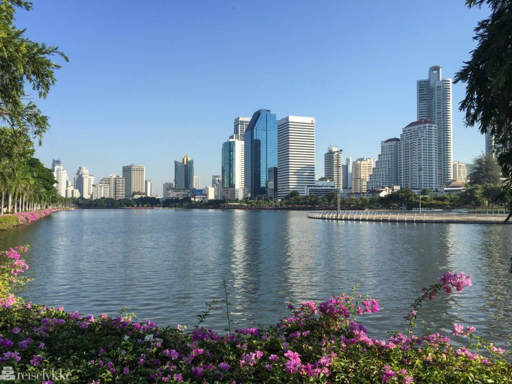 Benjakitti Park i Bangkok