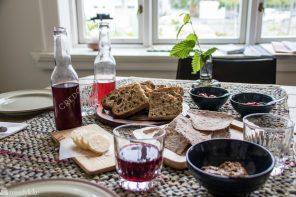 Brød hos Finnes kafé