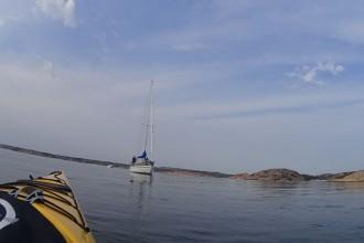 Padletur langs svenskekysten