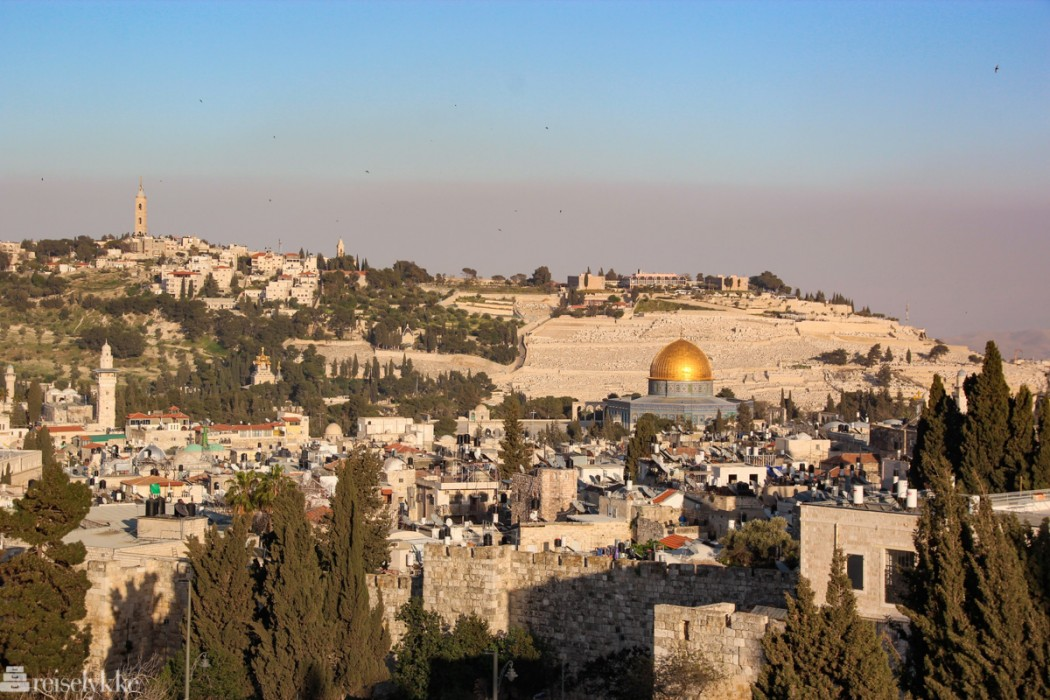 Påsketur til Jerusalem